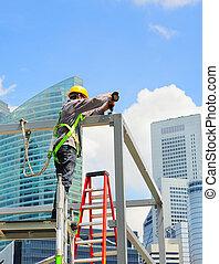 建築作業員, シンガポール