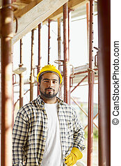 建築作業員