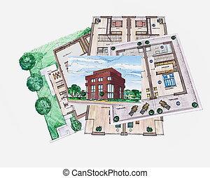 建築學, 建造計划