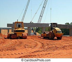 建築工地, 高速公路
