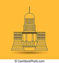 建築物設計, 州議會大廈
