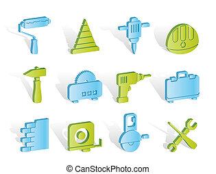 建築物, 以及, 建設, 工具