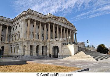 建築物, 小山, 華盛頓特區, 首都