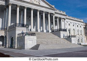 建築物, 步驟, 州議會大廈