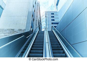 建築物, 電梯, 辦公室, 扶手