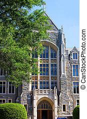 建築物, dc, 大學, 華盛頓