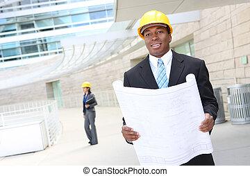建築現場, 建築家