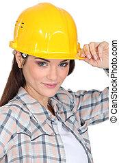 建築者, 女性