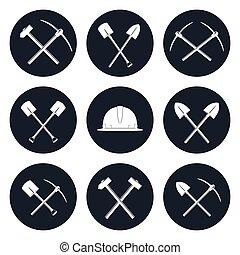 建築集合, 工具, 輪, 圖象