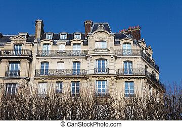 建築, パリ