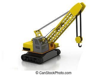 建設機械, 概念, 建物