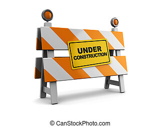 建設障壁, 下に