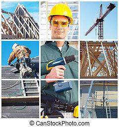 建設, そして, 建築者