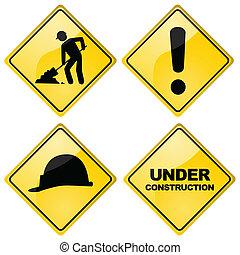 建設, サイン