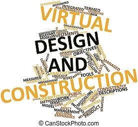 建設, デザイン, 事実上