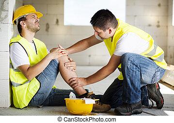 建設, 事故