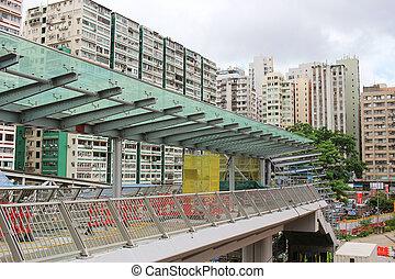 建設, 仕事, の, hk, 急行, 柵, リンク