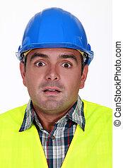 建設, 労働者, 恐れさせられた