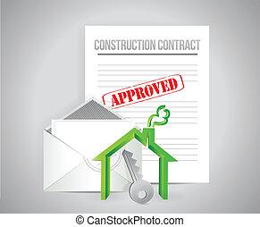 建設, 契約, 公認