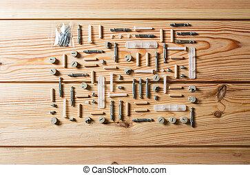 建設, 木, 分類される, 大工仕事, 手ざわり, ∥あるいは∥, 松, 道具, 木工事