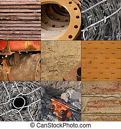 建設, 材料