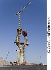 建設, 柱
