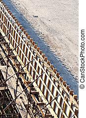 建設, 橋, サイト