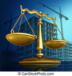 建設, 法律