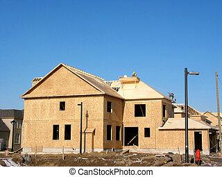 建設, ......的, 新的家