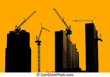 建設, 站點