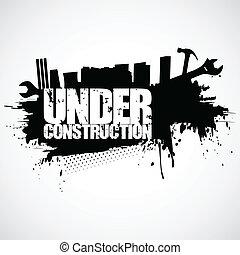 建設, 背景, 下に