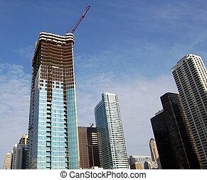 建設, 超高層ビル