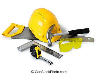 建設, 道具