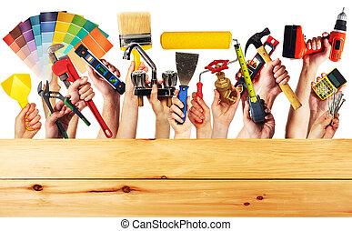 建設, tools., 手