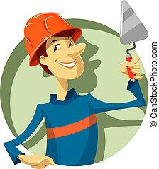 建设者, 泥刀