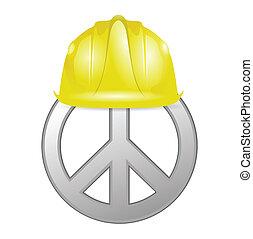建设, 和平, 在下面
