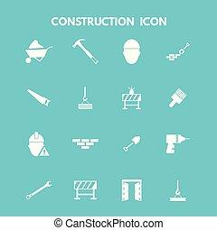 建设, 图标