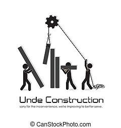 建设, 在下面