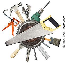 建设, 工具