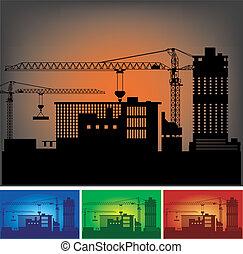 建设, 工厂