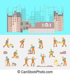建设, 描述