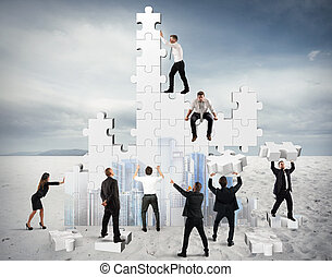 建造, 商业