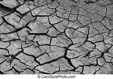 开裂, 土壤