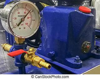 弁, 部分, 機械, 金属, 圧縮器, 下水