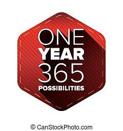 引用, 動機づけである, -, 印刷である, 1, 年, 365, possibilities.