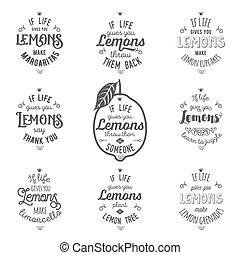 引用, 動機づけ, レモン, について