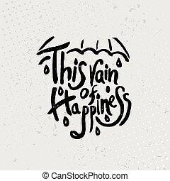 引用, -, 手, 黒, これ, ベクトル, 引かれる, グランジ, 雨, 幸福, バックグラウンド。