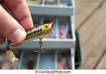 引誘, 選擇, 釣魚