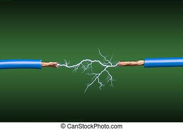 弧, 電気である