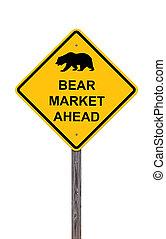 弱気市場, 前方に